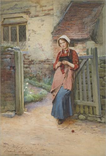 carlton-alfred-smith-1853-1946-at-the-garden-gate_
