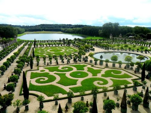 Jardim do Palácio de Versalhes 2 - Versalhes - Fr
