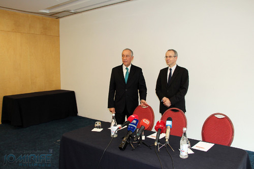 Marcelo Rebelo de Sousa e João Gabriel Silva