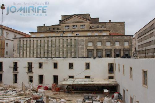 Obras do Colégio da Santíssima Trindade da Universidade de Coimbra que será a Casa da Jurisprudência da Faculdade de Direito da Universidade de Coimbra