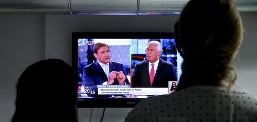 Passos Coelho vs Ant Costa debate televisão 9Set2