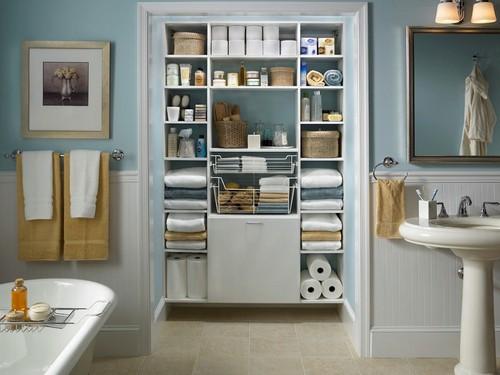Awesome-Organization-Bathroom-Ideas-With-Classic-W