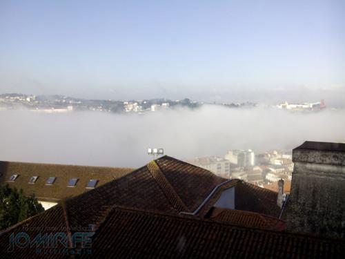 Nevoeiro em Coimbra sobre o Rio Mondego. Fog in Coimbra over the Mondego River