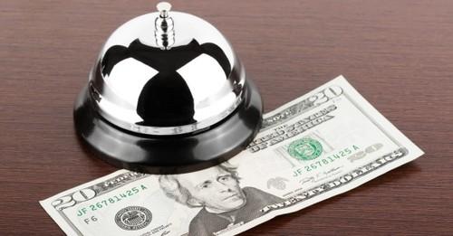poupe dinheiro na hotelaria