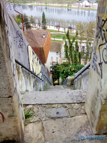 Escadas do Quinchorro em Coimbra [en] Quinchorro stairs in Coimbra Portugal