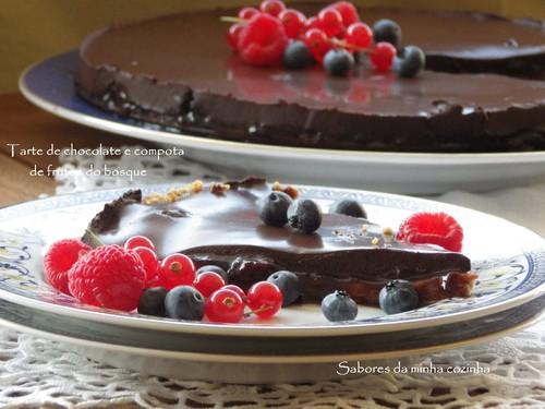 IMGP4016-Tarte de chocolate e compota de frutos do