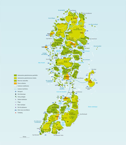 mapa palestineorientale