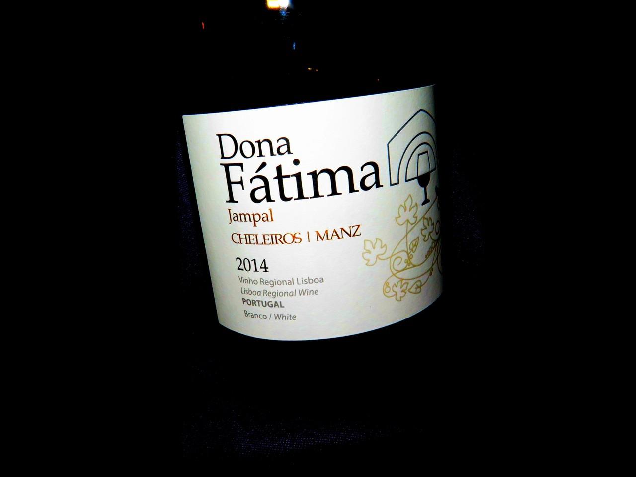 Dona Fátima Jampal branco 2014