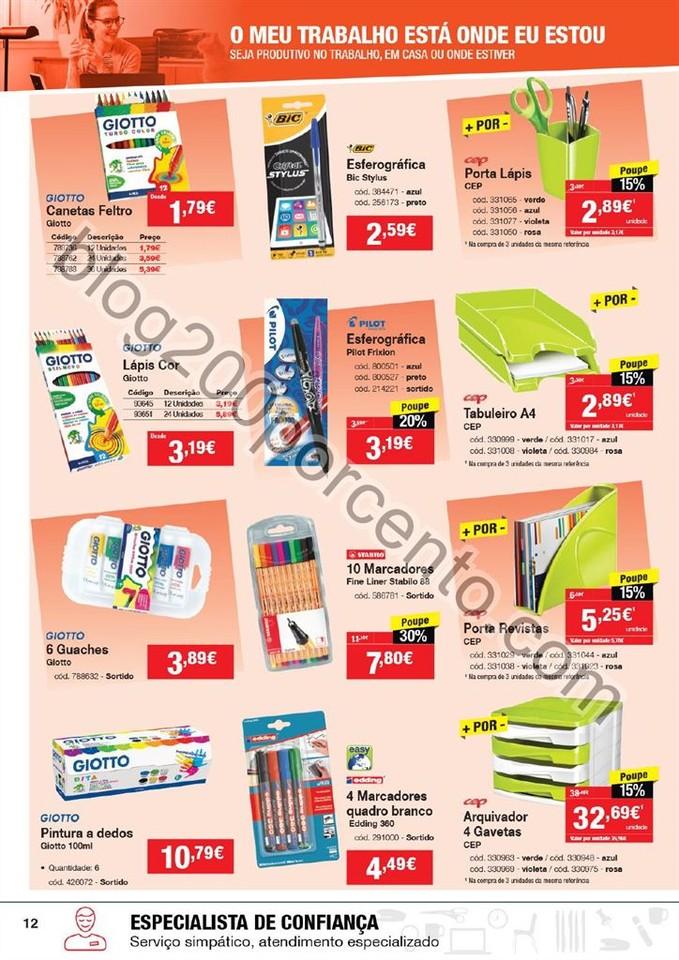 Antevisão Folheto STAPLES Promoções de 2 a 14 j