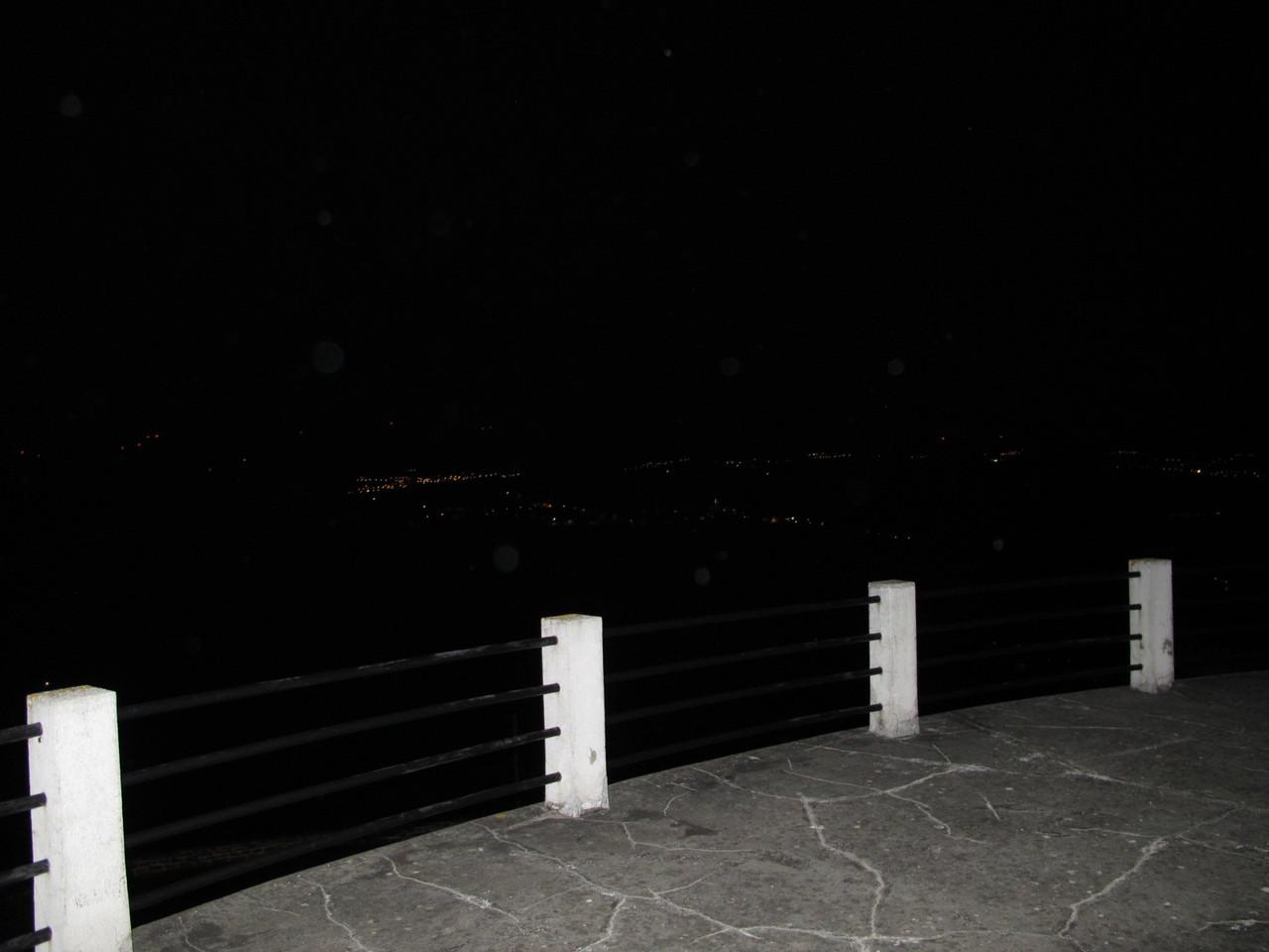 No terraço da Casa Redonda