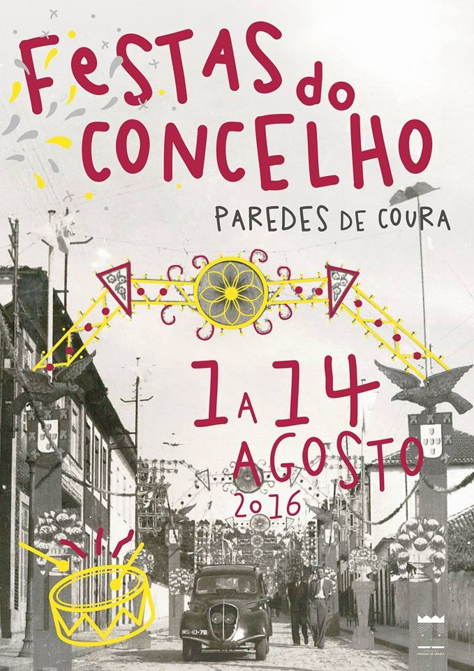 Cartaz Festas Paredes Coura 2016