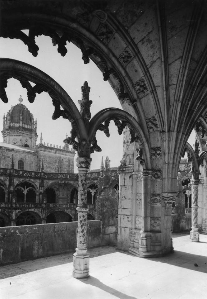 Mosteiro dos Jerónimos, claustro, foto de Antóni