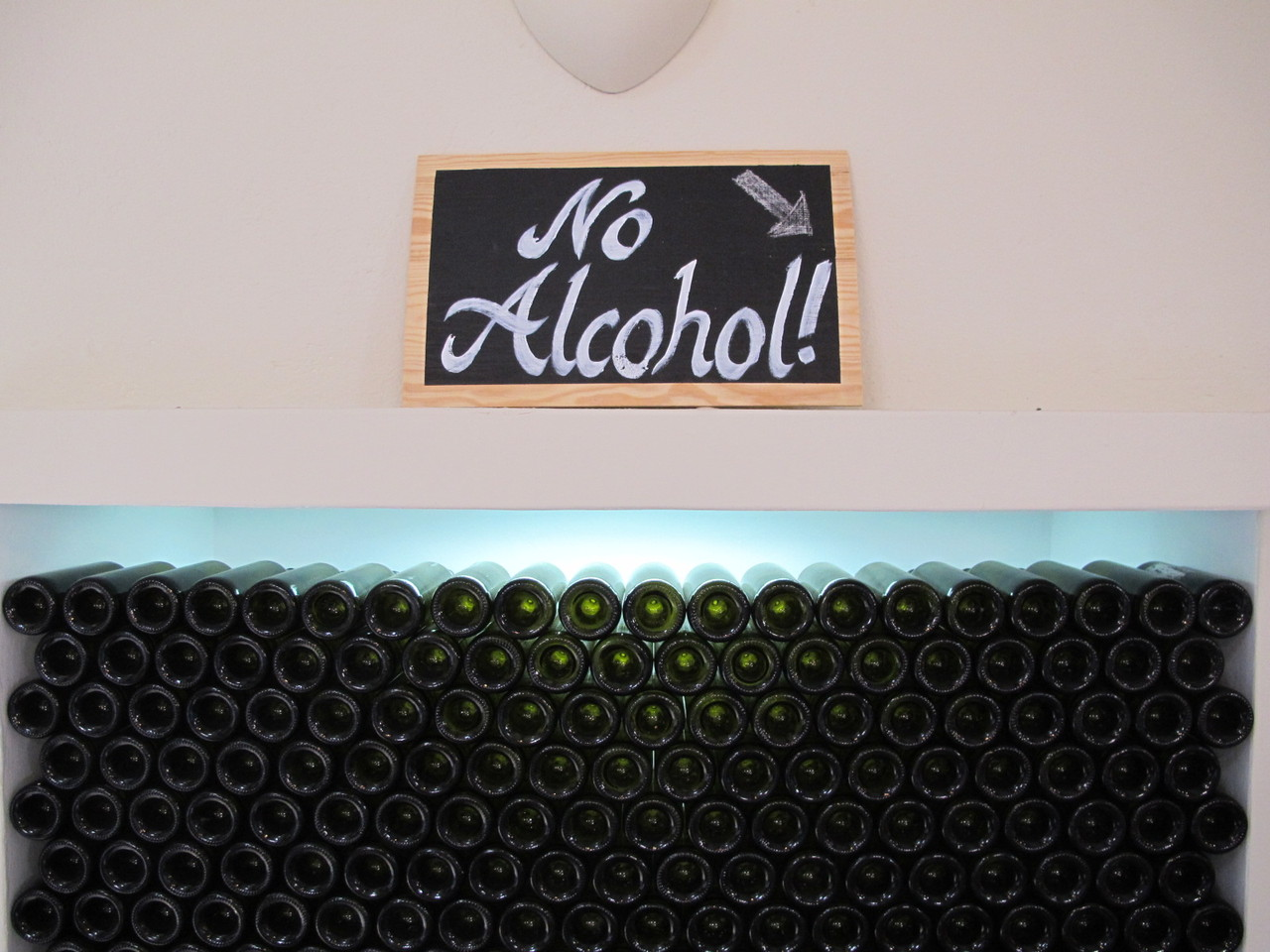 Não há só vinho!