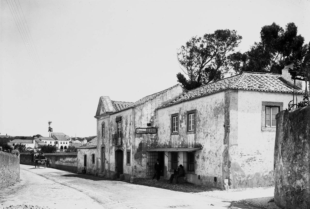 Retiro A Perna de Pau, junto ao apeadeiro do Areei