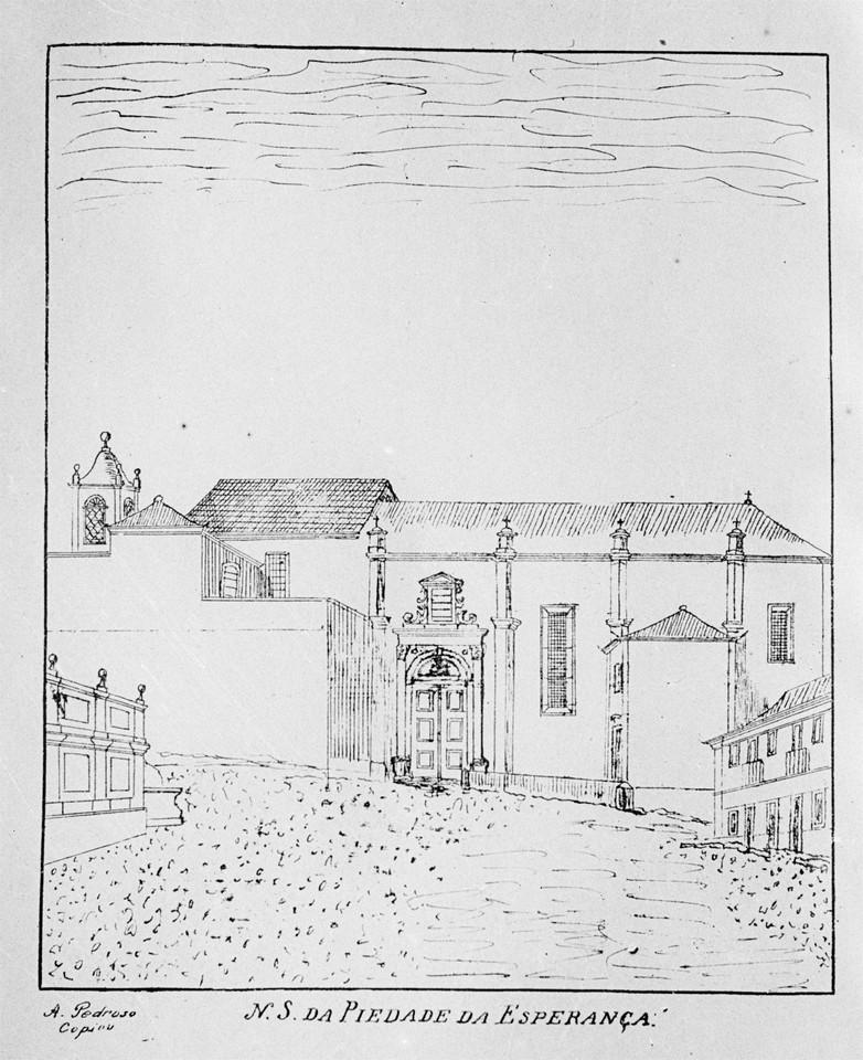 Convento de Nossa Senhora da Esperança, desenho.j