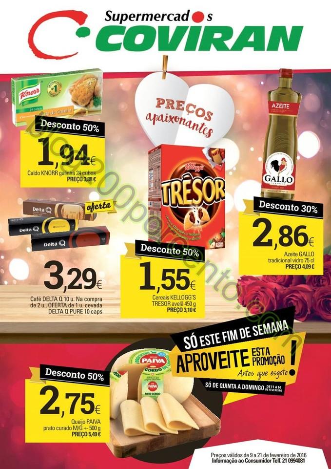 Antevisão Folheto COVIRAN promoções de 9 a 21 f
