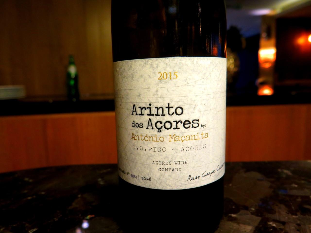 Arinto dos Açores by António Maçanita branco 2015