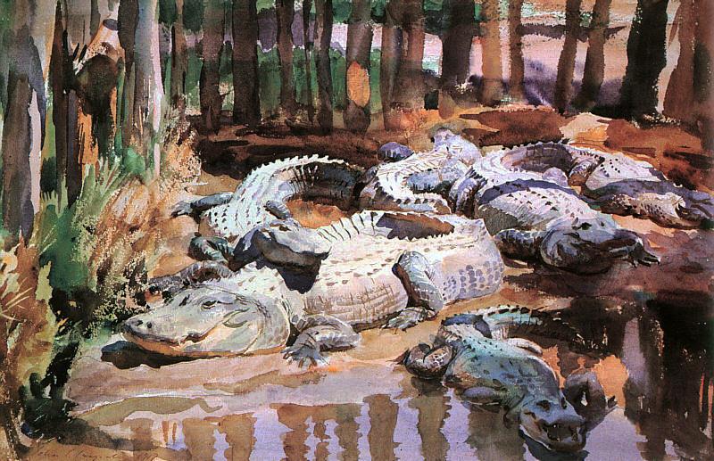 Sargent_-_Muddy_Alligators.jpg