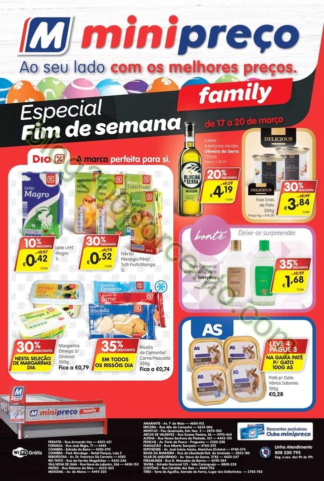 Antevisão Folheto MINIPREÇO Family de 17 a 23 ma