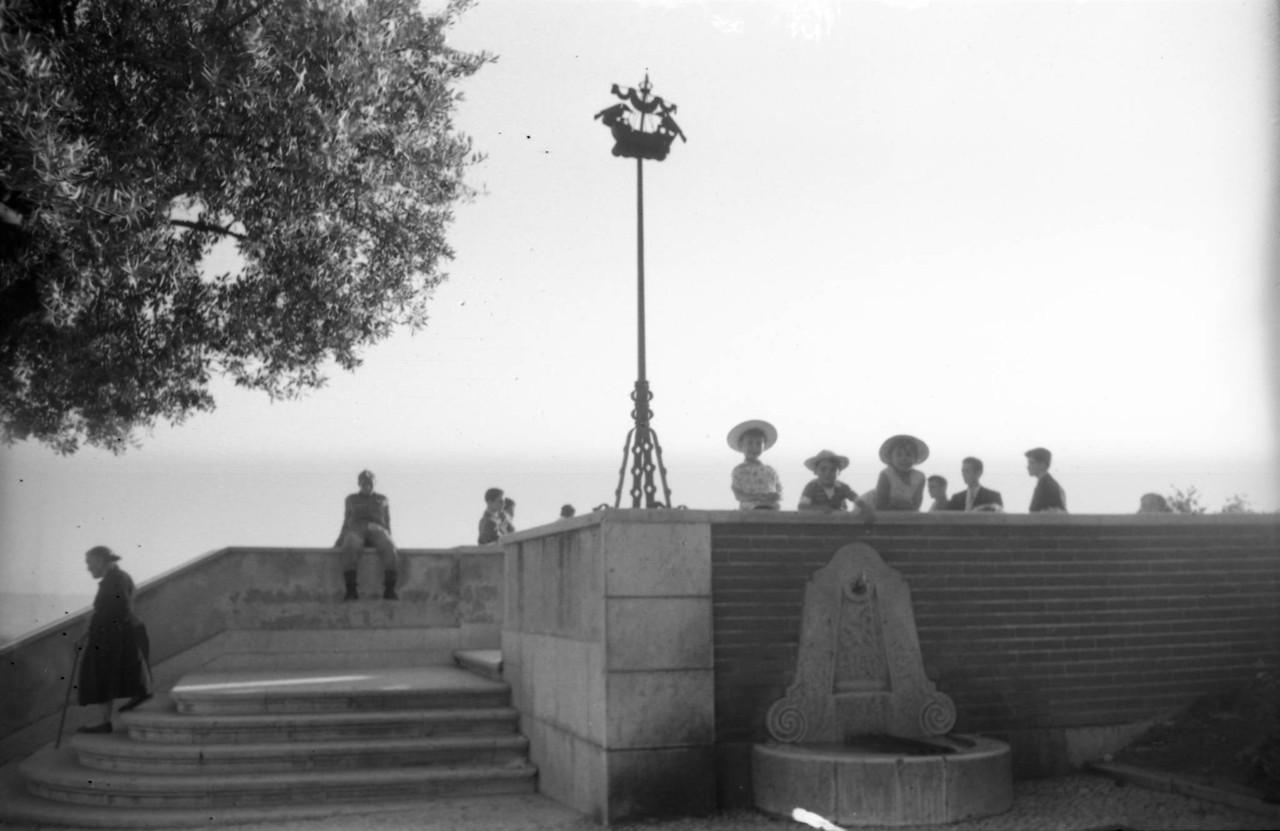 Miradouro da Senhora do Monte, 1959, foto de Arnal
