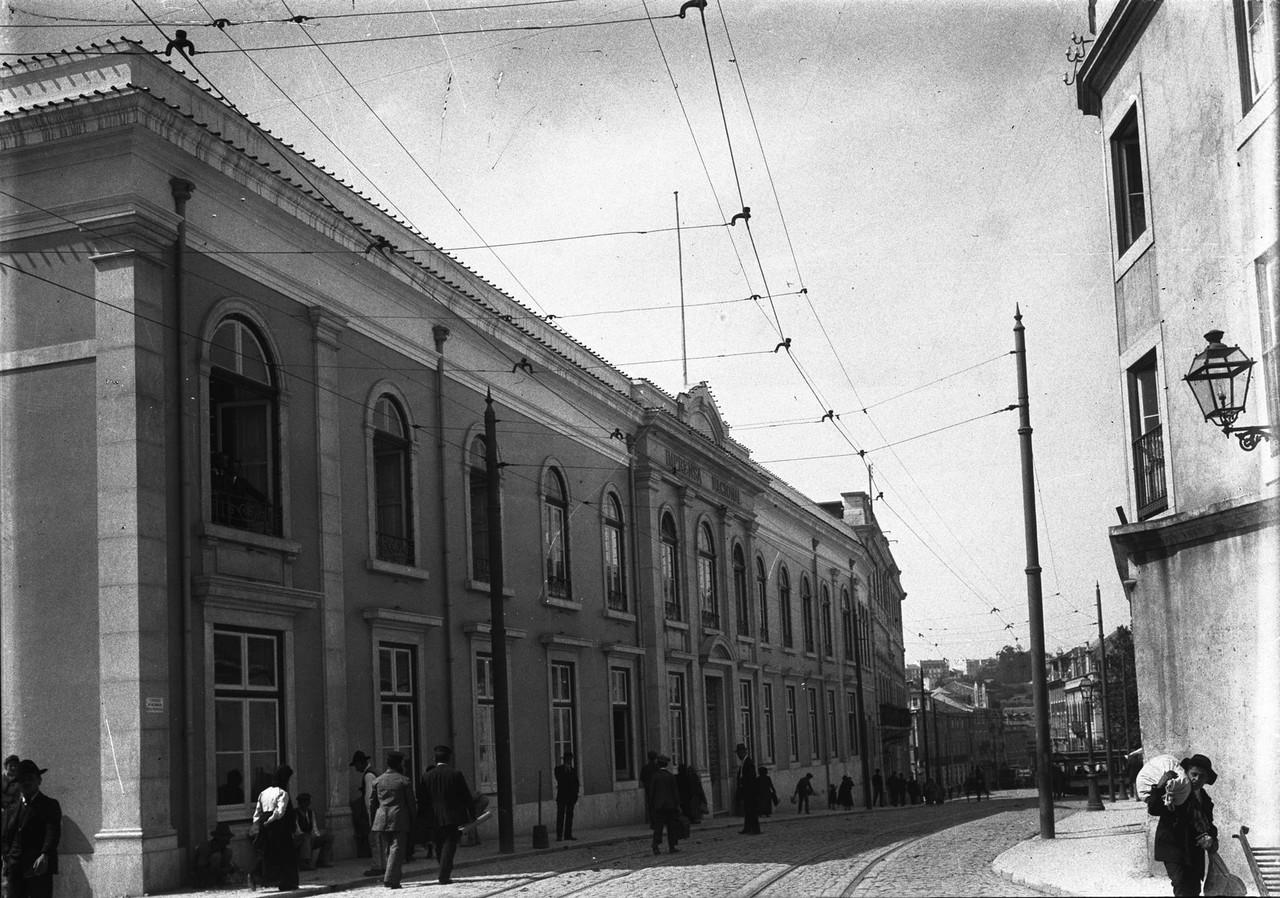 Imprensa Nacional, 1913, foto  de Joshua Benoliel,