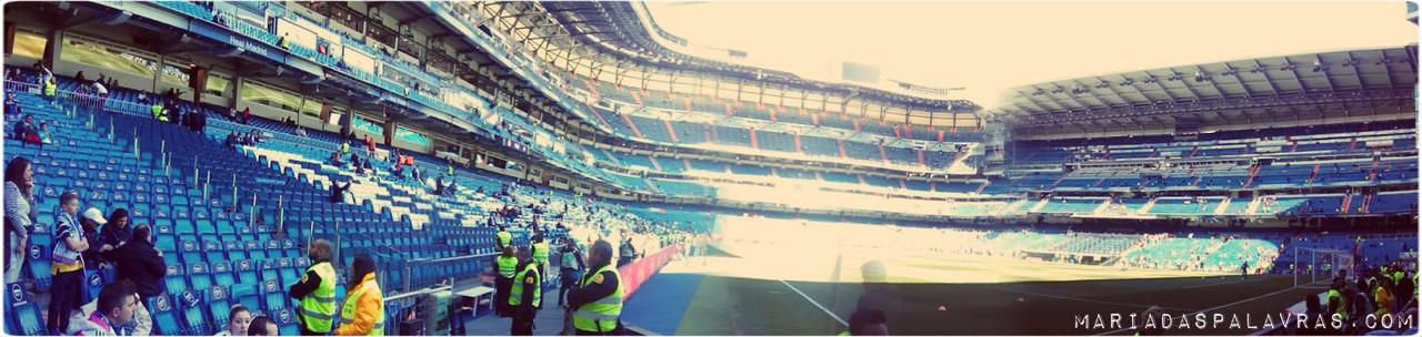 Estadio Santiago Barnabéu | Maria das Palavras