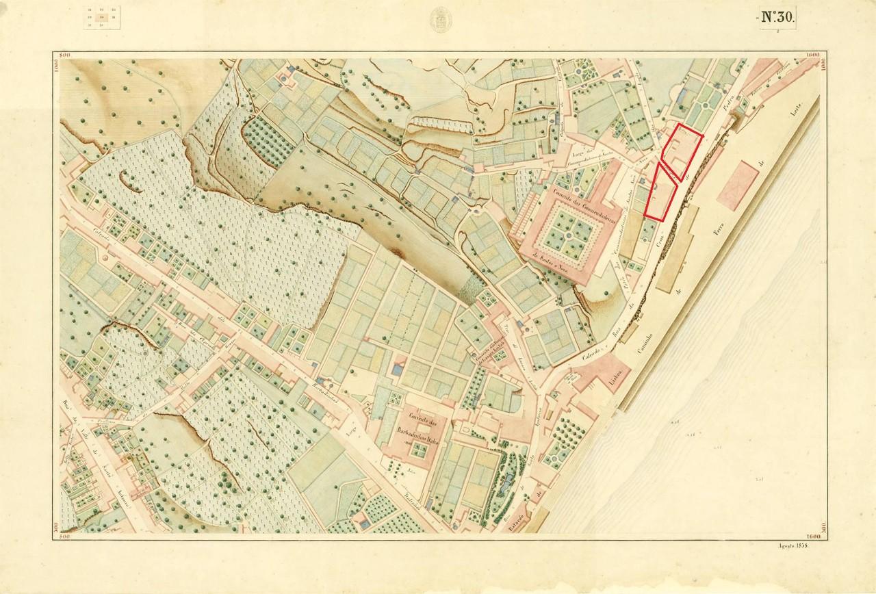 Atlas da carta topográfica de Lisboa, nº 30, de