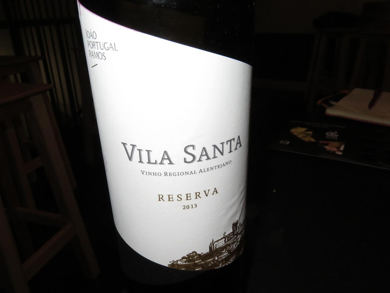Vila Santa Reserva Tinto 2013