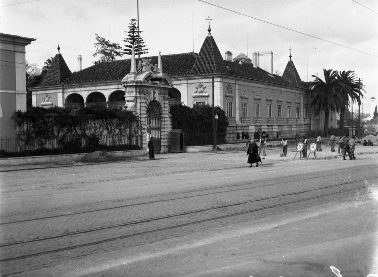 Palácio da Palhavã, foto de Judah Benoliel, in a