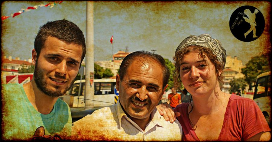 À boleia na Turquia vale tudo