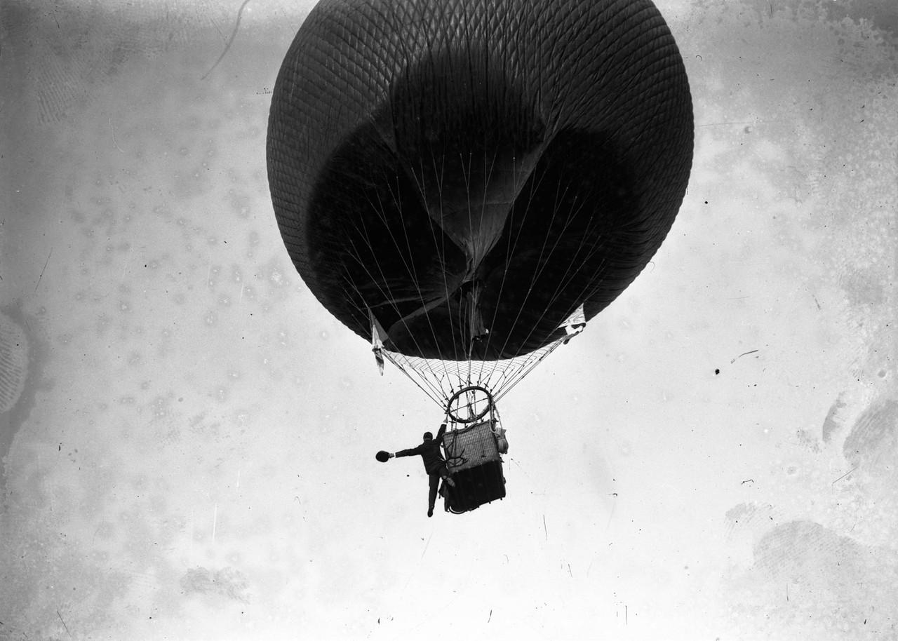 O Balão Nacional, uma ascenção no velódromo, 2