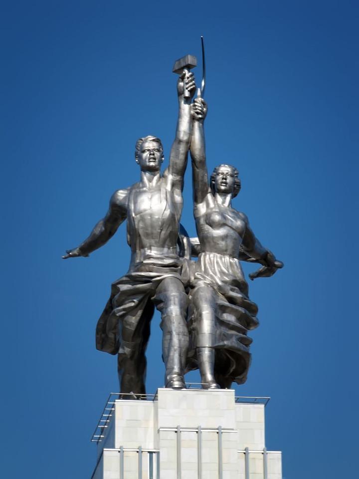 Estátua Vera Mukhina