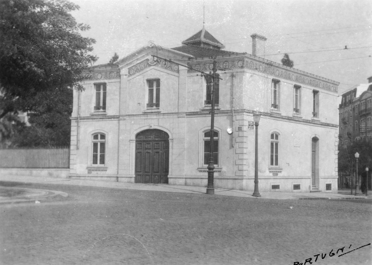 Palácio do Conde de Sabrosa, cocheira, 1930, Edua