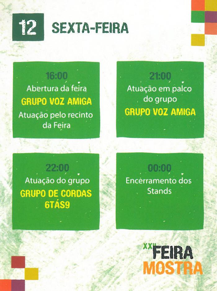 Feira Mostra Coura 2015 - 2