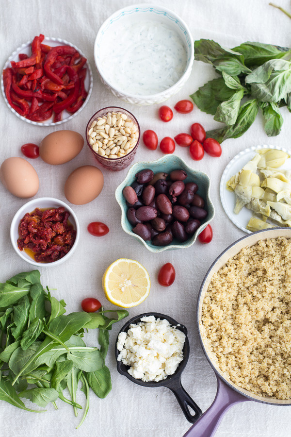 Greek-Quinoa-Dinner-Omelets-with-Feta-and-Tzatziki