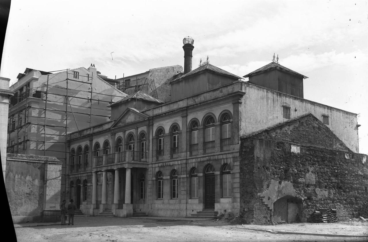 Termas de São Paulo, 1951,foto de Eduardo Portuga