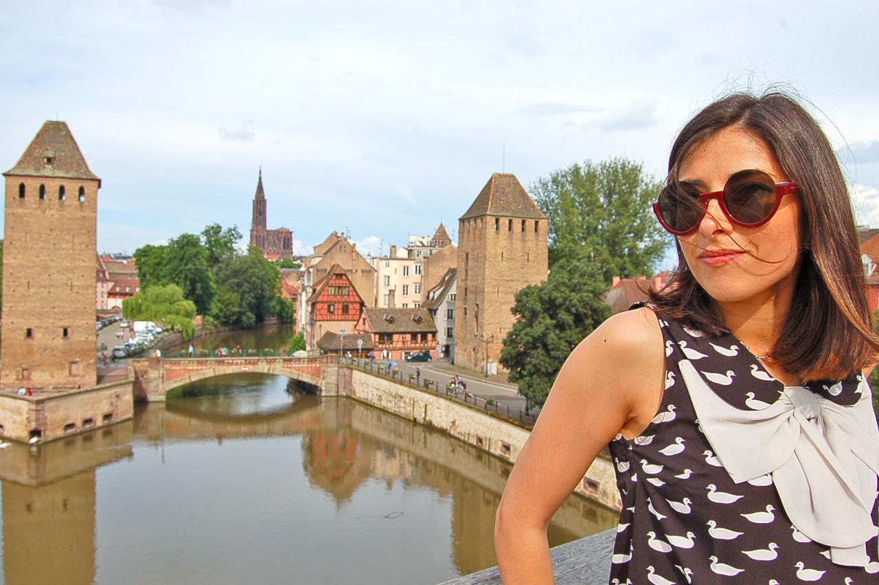 Pontes Cobertas, em Estrasburgo