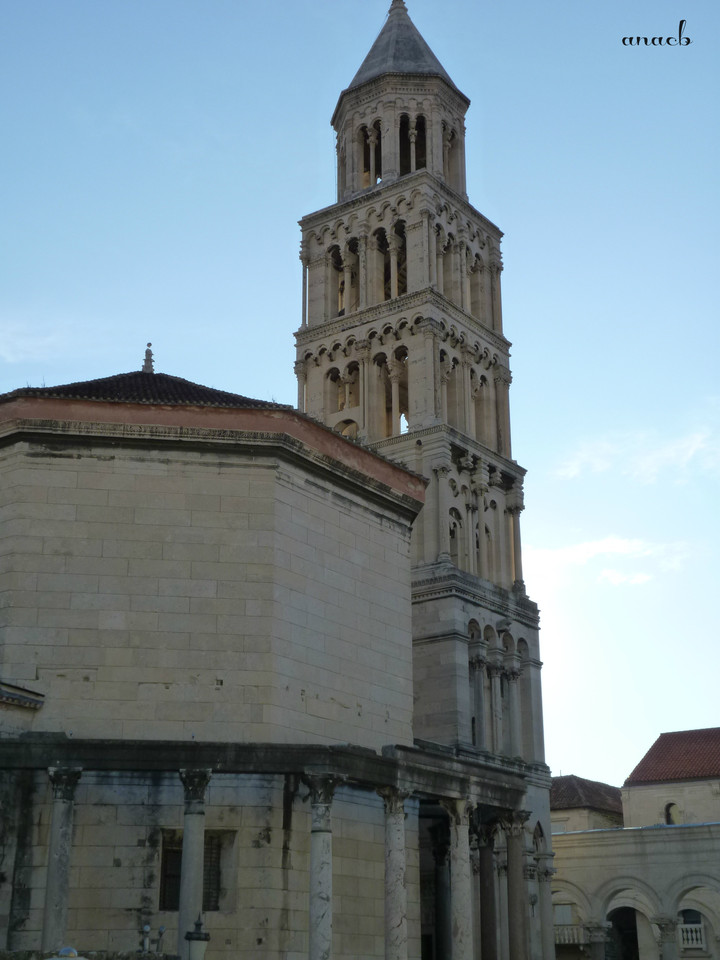 Croácia-Split-Torre e Catedral 1.jpg