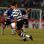 Estreia oficial pelo Sporting (13/08/02)