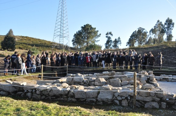 Inauguracao escavacoes Garfe 1 (Foto da autoria de