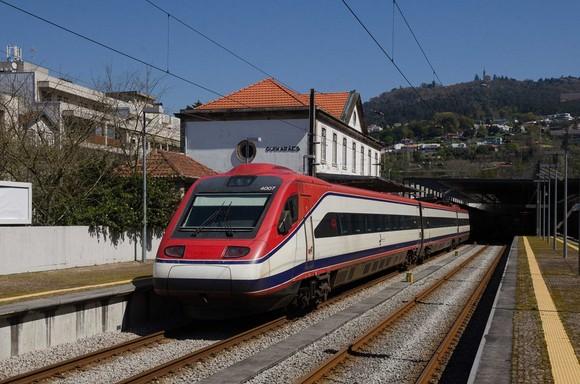 Alfa na Estação de Guimarães