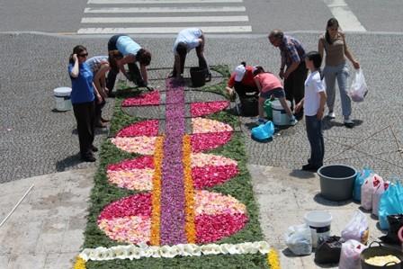 Tapetes Flores Corpo Deus Coura 2013 F