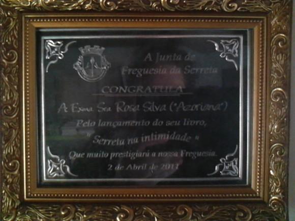 Oferta a Rosa Silva
