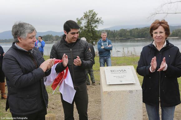 Inauguração ecovia Caminho Rio Minho Lanhelas (3