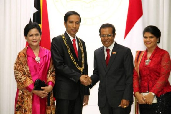 Presidente Joko Widodo visita Díli, Timor-Leste