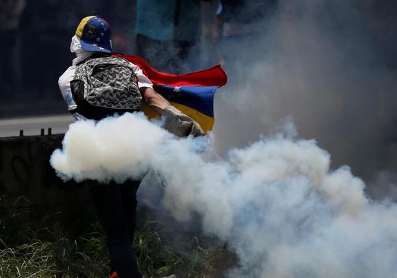 Manifestação contra Maduro, Caracas