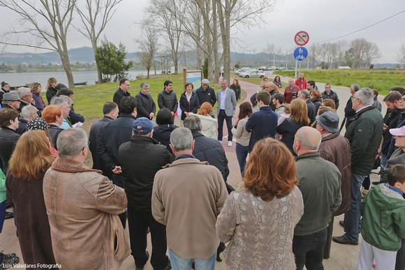 Inauguração ecovia Caminho Rio Minho Lanhelas (1