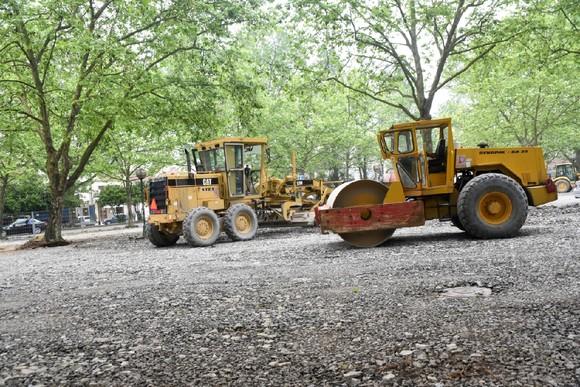 Parque de Estacionamento D Maria II está em obras