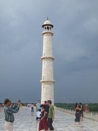 Minarete - Taj Mahal