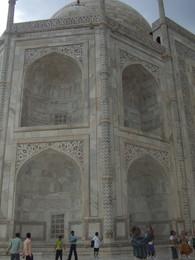 Pormenor - Taj Mahal